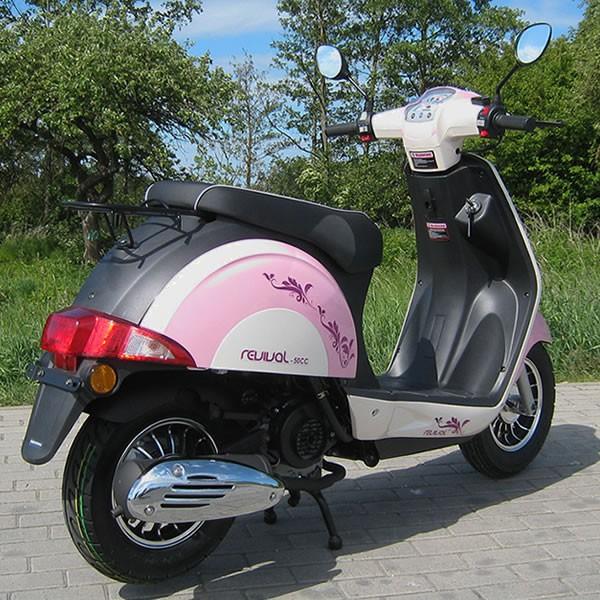 motorroller 45 km h girly revival 50 ccm m dchen roller in. Black Bedroom Furniture Sets. Home Design Ideas