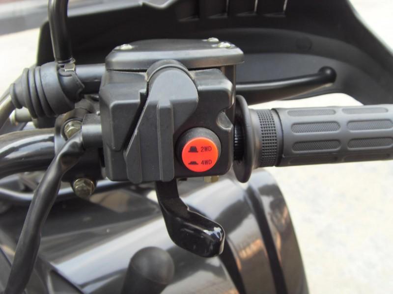 Atv Quad 600 cc Allrad Daumengas