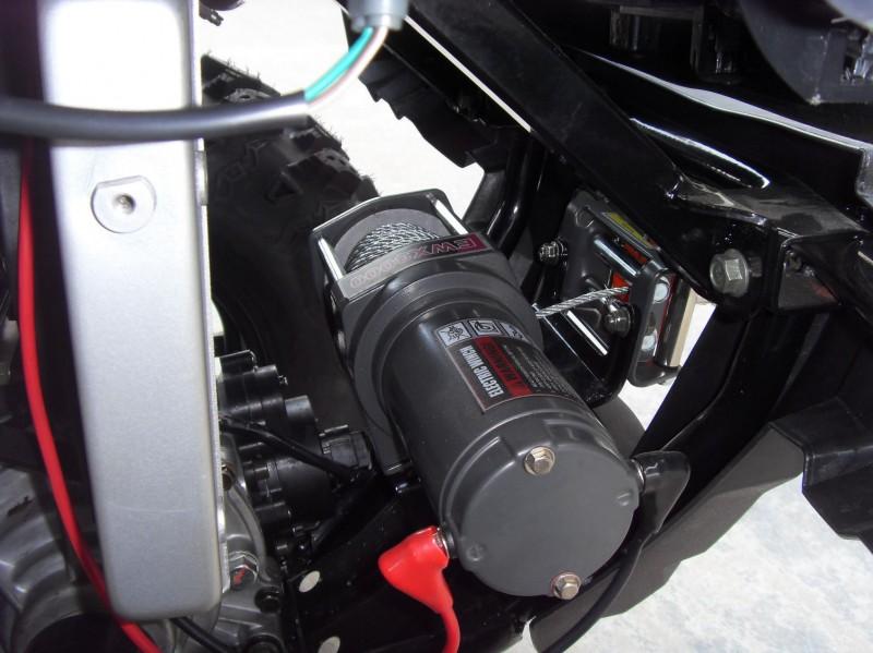 Atv Quad Allrad 600 cc Seilwinde