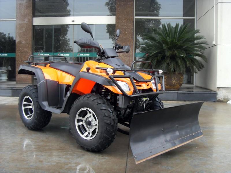 Quad Atv 300ccm mit Schneeschild und Allrad