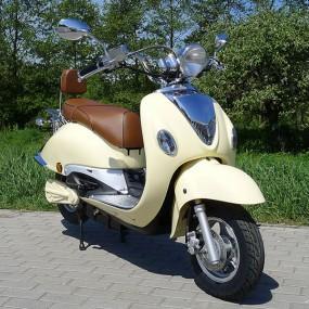 elektro motorroller  watt retro  scooter znen
