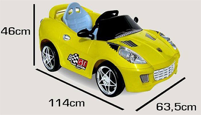 kinderauto elektroauto sportwagen 2x30watt motor. Black Bedroom Furniture Sets. Home Design Ideas