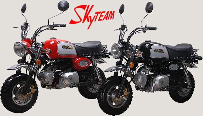 skyteam st 50 8a 50ccm gorilla nachbau skyteam motorrad. Black Bedroom Furniture Sets. Home Design Ideas